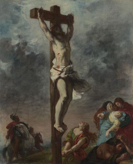 Christ on the Cross, 1853 - Eugene Delacroix