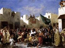 Fanatici di Tangeri - Eugene Delacroix