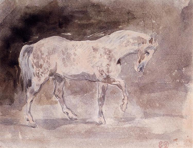 Horse - Eugene Delacroix