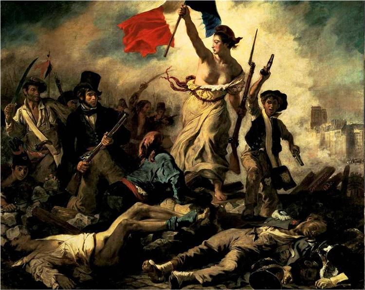 Liberty Leading the People, 1830 - Eugene Delacroix