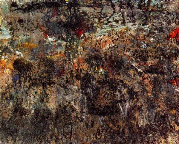 Dark sea, 1991 - Eugene Leroy