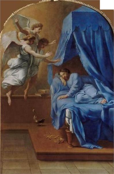 Songe de saint Bruno, 1648 - Eustache Le Sueur