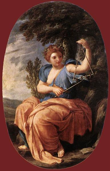 The Muse Terpsichore, 1652 - 1655 - Eustache Le Sueur