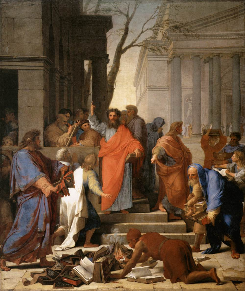 Image result for paul preaching
