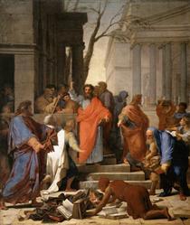 The Preaching of St. Paul at Ephesus - Eustache Le Sueur