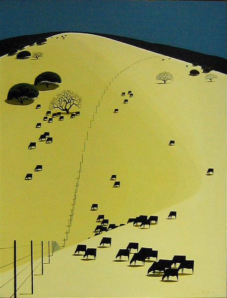 Grazing in Peace, 1970 - Eyvind Earle