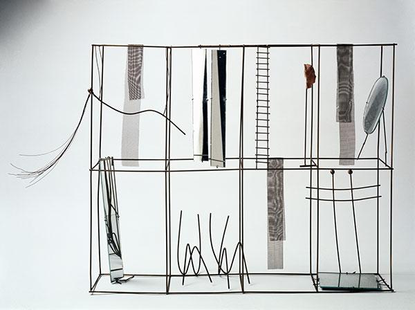 Con gli specchi - Fausto Melotti