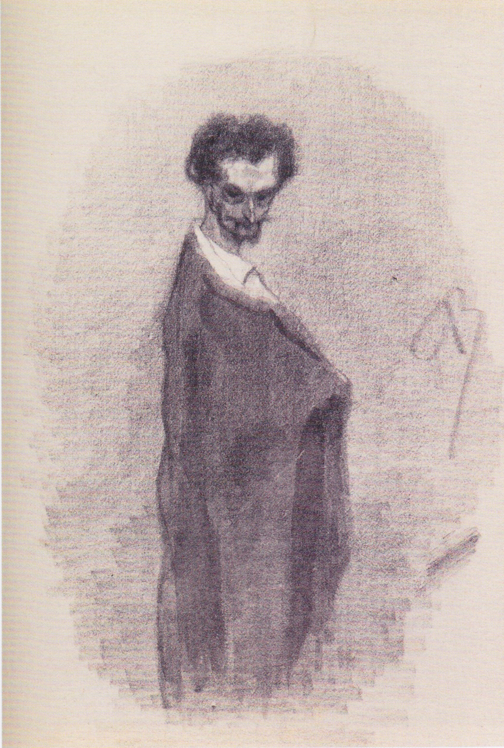 Satanic Self-Portrait, 1860