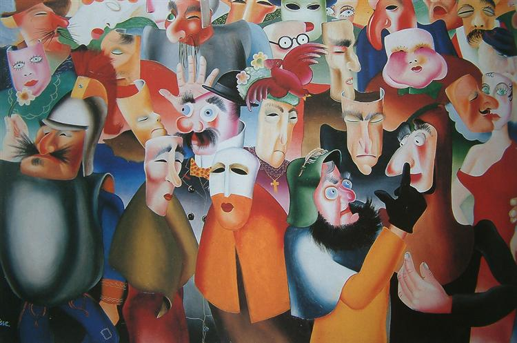 Grand carnival Ostendais, 1934 - Felix Labisse