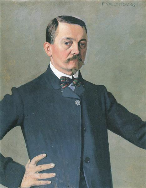 Self-portrait, 1925 - Felix Vallotton