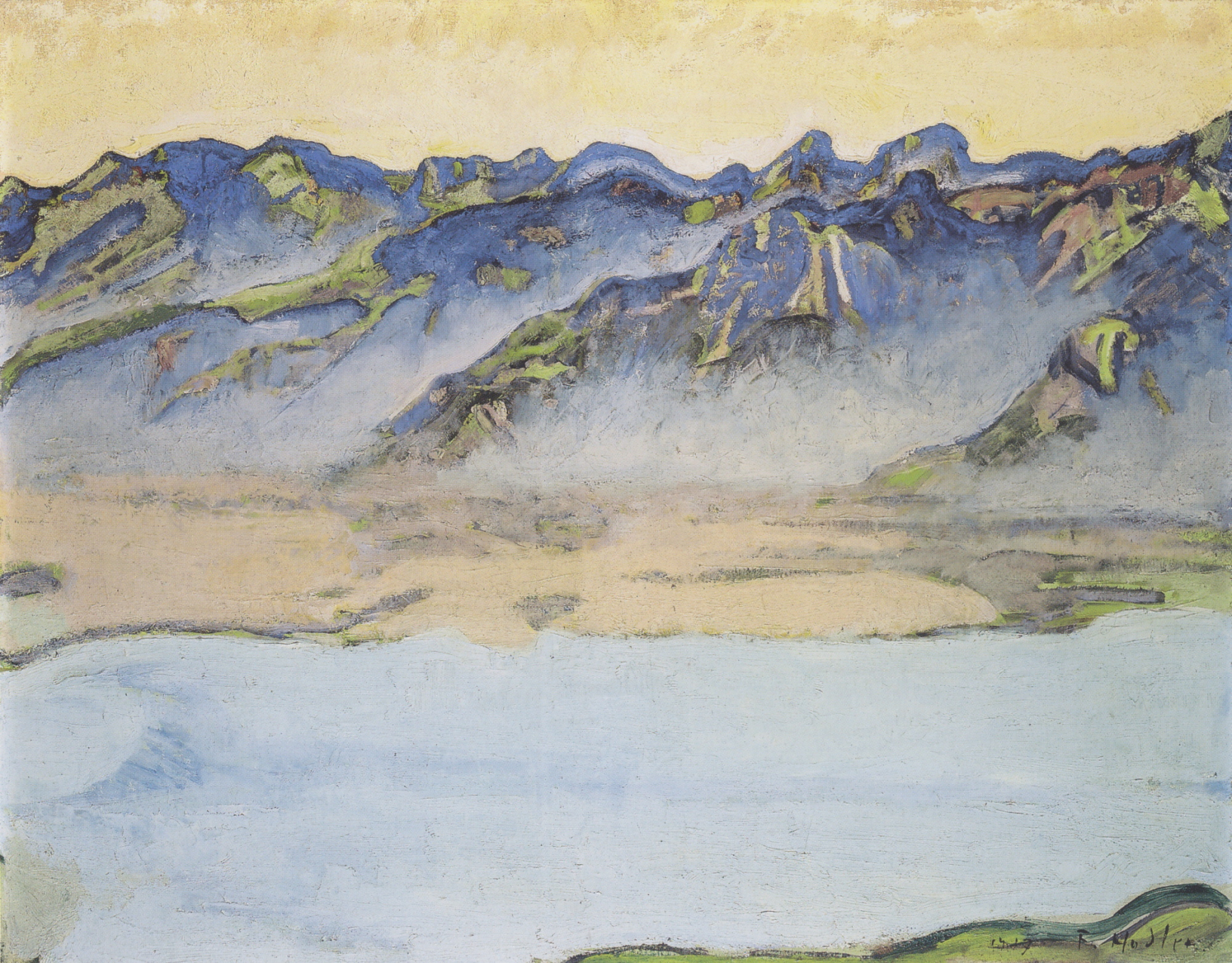Image result for Ferdinand Hodler alpes