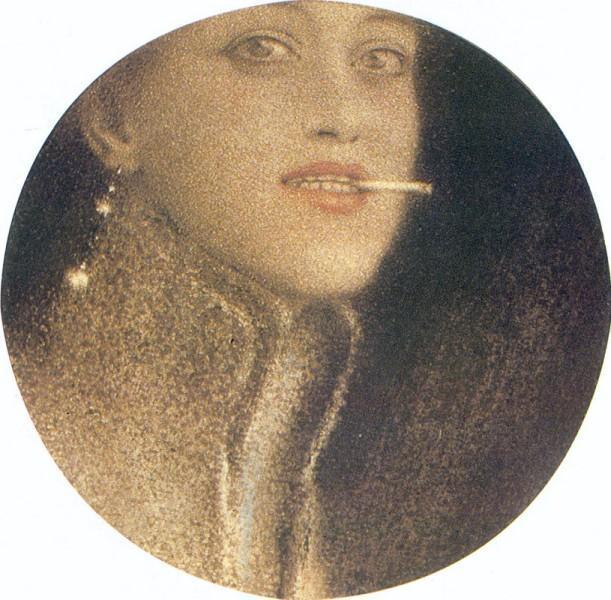 The Cigarette, 1912 - Фернан Кнопф