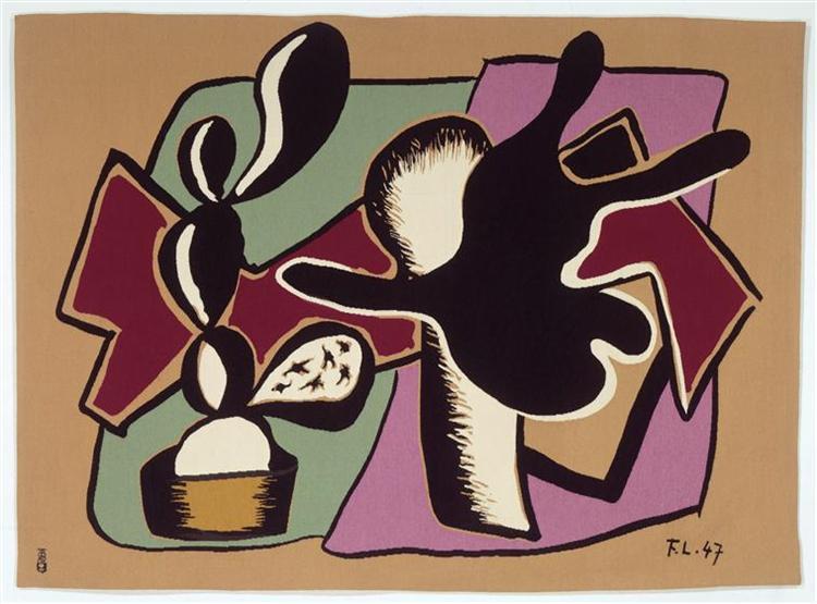 Plant black - Fernand Leger