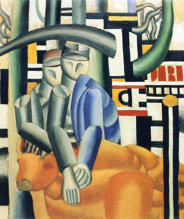 The Butcher Shop by Fernand Leger, 1921 (via WikiPaintings).