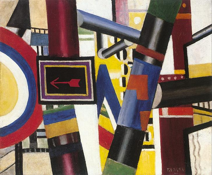 The railway crossing - Fernand Léger