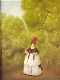Arcivescovo Lost in the Woods - Fernando Botero
