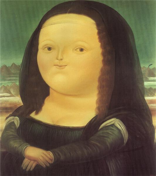 Mona Lisa - Botero Fernando