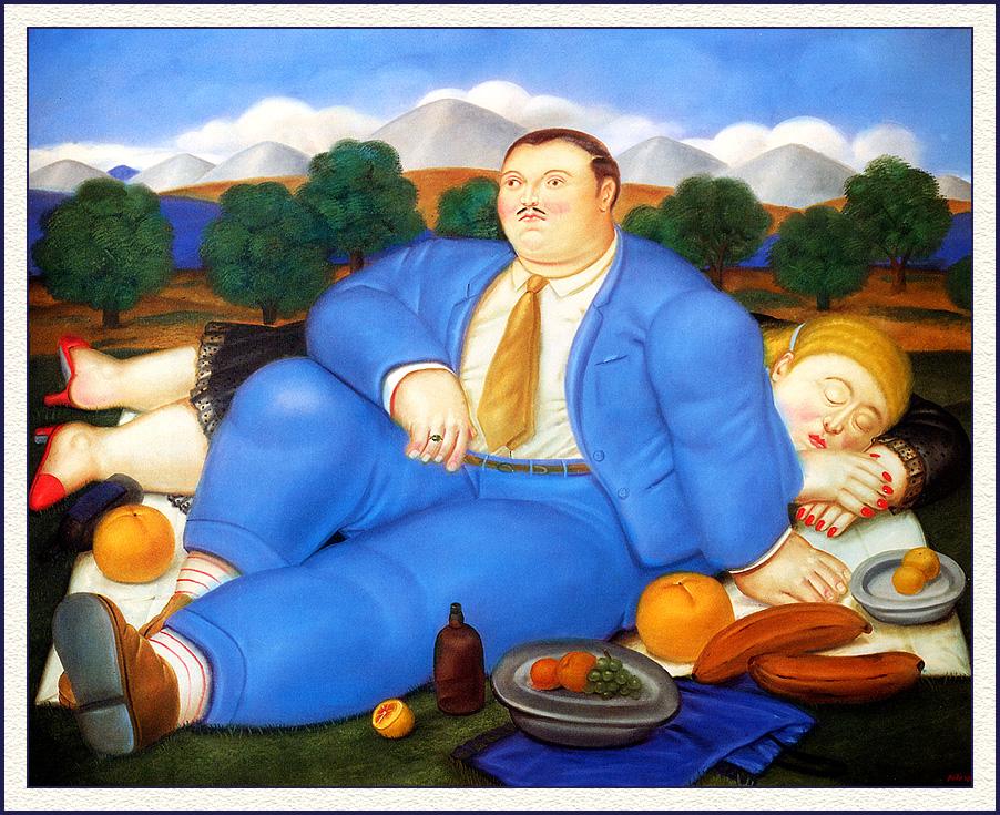 Super The Siesta - Fernando Botero - WikiArt.org BQ83