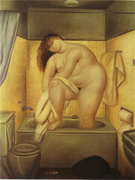 Tribute to Bonnard, 1972 - Fernando Botero