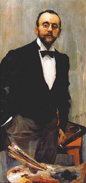 The artist Igor Grabar, 1895 - Filipp Malyavin