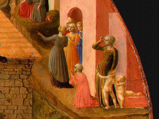 Adoration of the Magi (detail) - Filippo Lippi