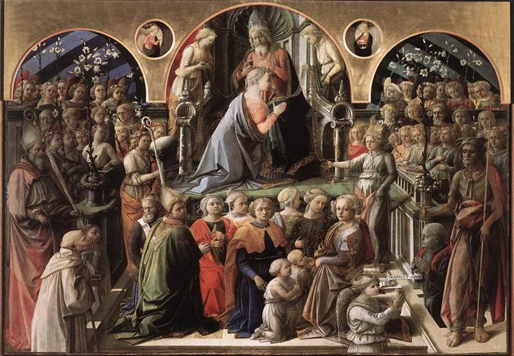 Coronation of the Virgin - Filippo Lippi
