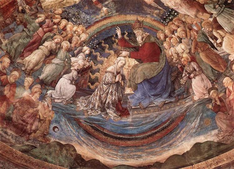 Coronation of the Virgin, 1467 - 1469 - Filippo Lippi