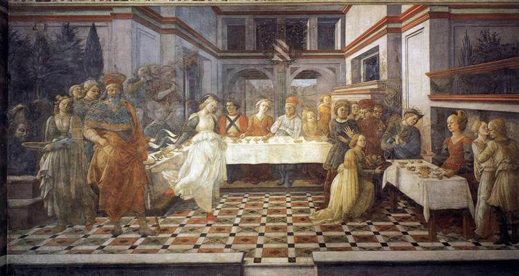 The Feast of Herod: Salome's Dance - Filippo Lippi