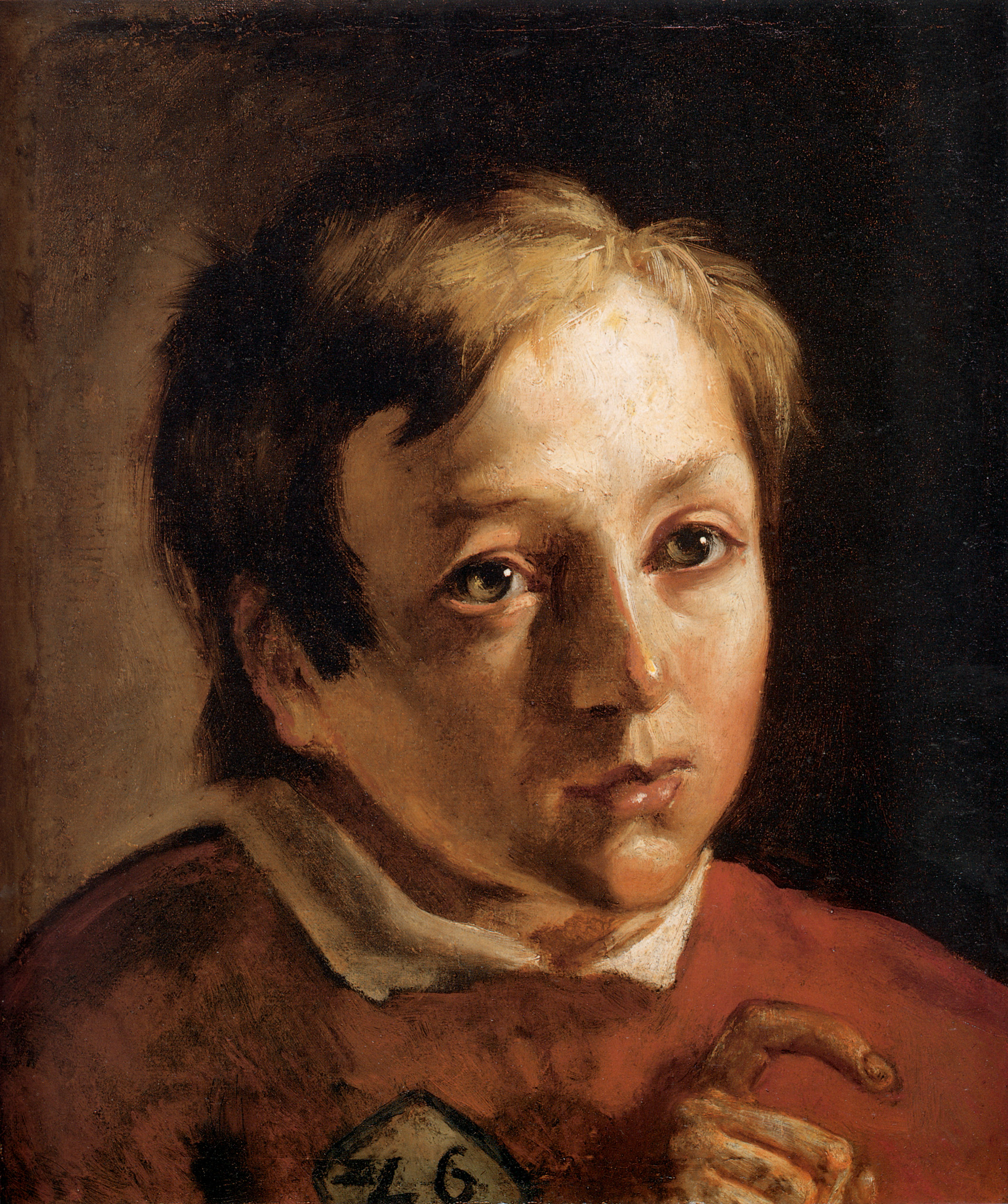 Head of a Page Boy, 1837