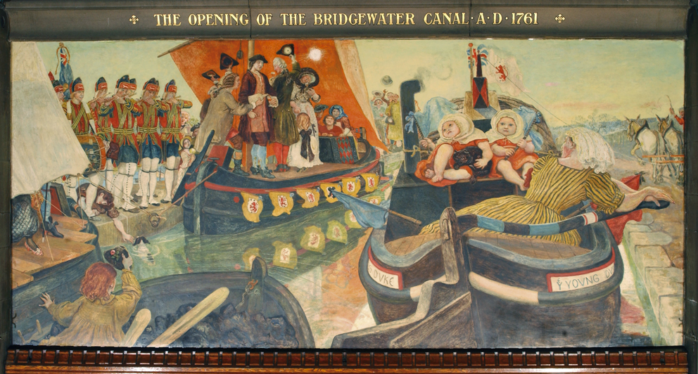 The Opening of the Bridgewater Canal