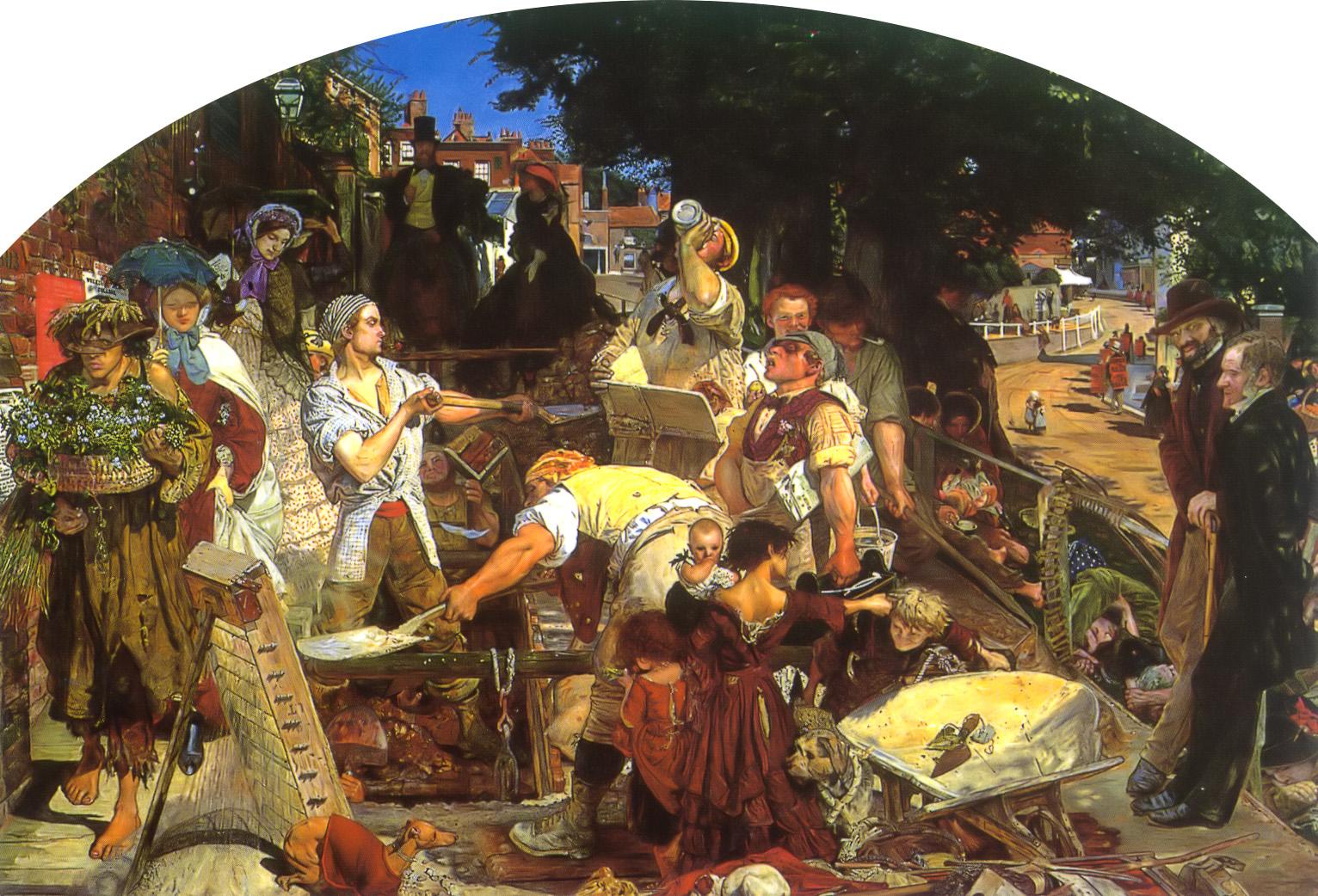 Work, 1852-1863
