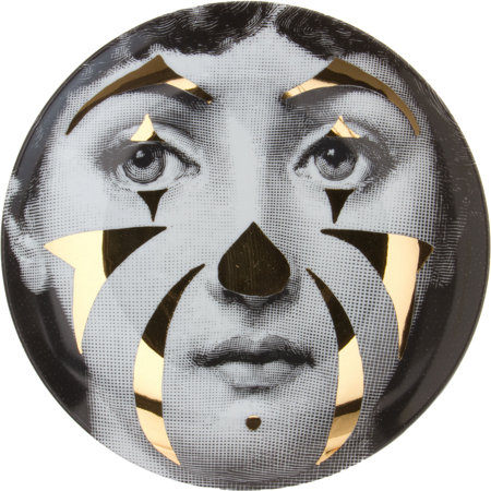 Theme & Variation Decorative Plate #122 (Clown) - Fornasetti