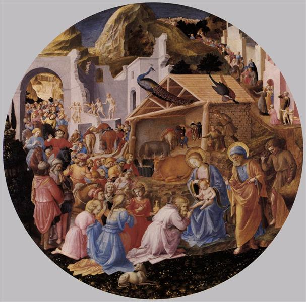 Adoration of the Magi, c.1445 - Фра Анджеліко