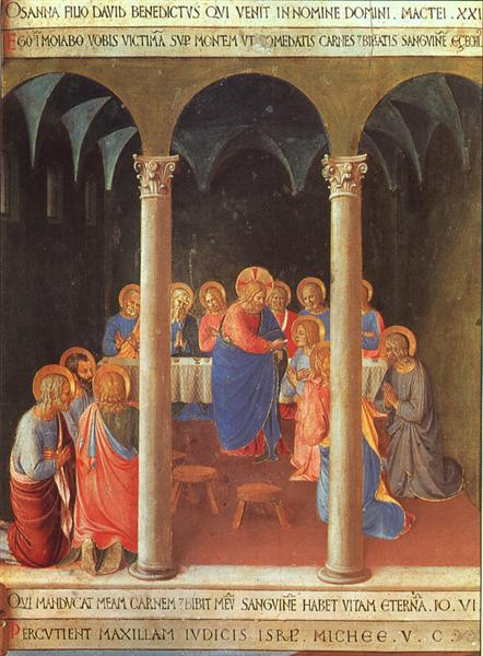 Communion of the Apostles, 1451 - 1452 - Fra Angelico
