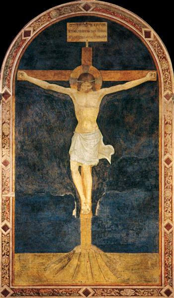 Crucified Christ, 1433 - 1434 - Fra Angelico