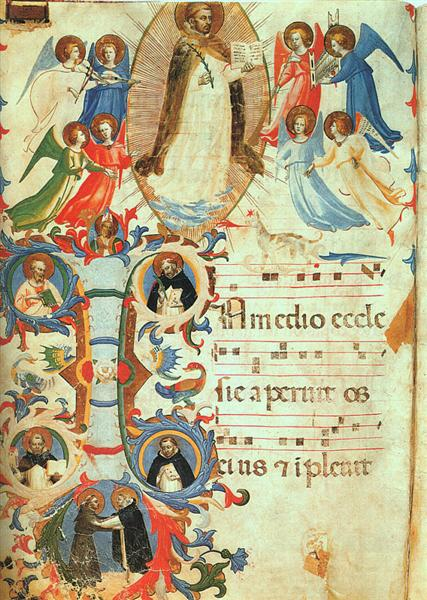 Glorification of Saint Dominic, c.1424 - c.1425 - Fra Angelico