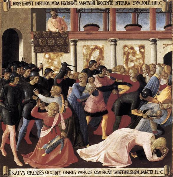 Massacre of the Innocents, 1451 - 1452 - Fra Angelico