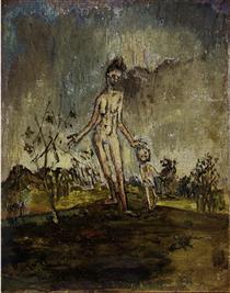 Femme et enfant - Франсис Грюбер