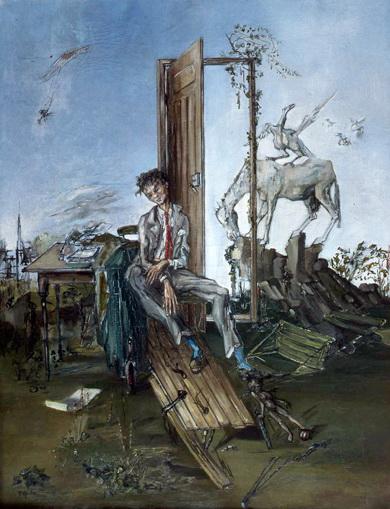 Le poète, hommage à Rimbaud - Francis Gruber