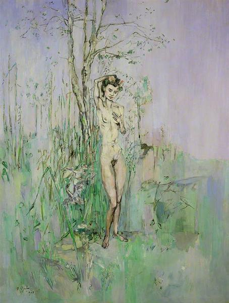 Nude Woman in Landscape - Francis Gruber