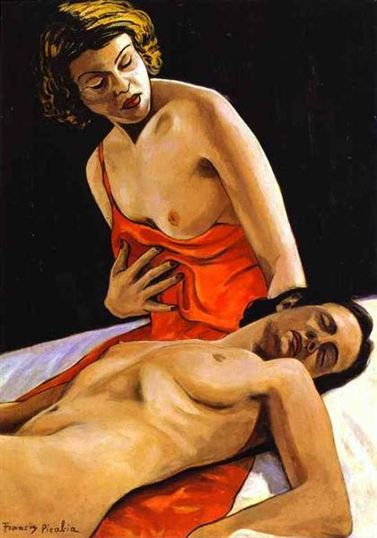 Two Nudes, c.1941 - Francis Picabia