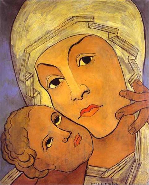 Virgin with Infant, c.1933 - c.1935 - Francis Picabia