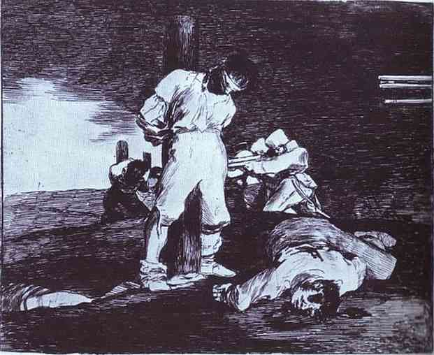 And It Cannot Be Changed, 1812 - 1814 - Francisco Goya