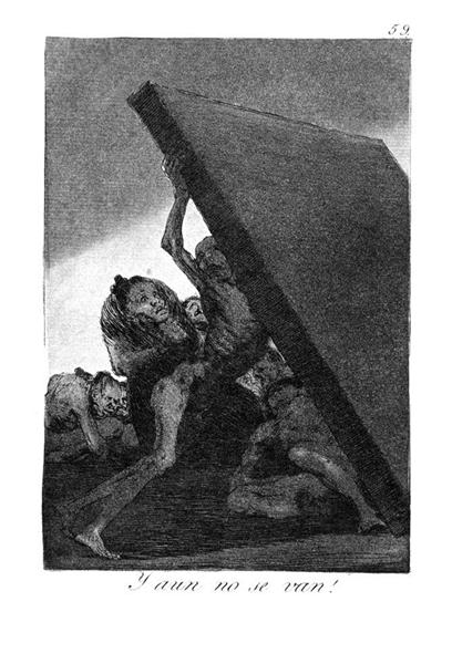 And they still won't go, 1799 - Francisco Goya