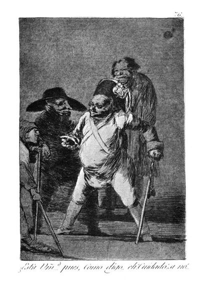 Are you … Well, as I was telling you. Eh! Be careful or..., 1799 - Francisco Goya
