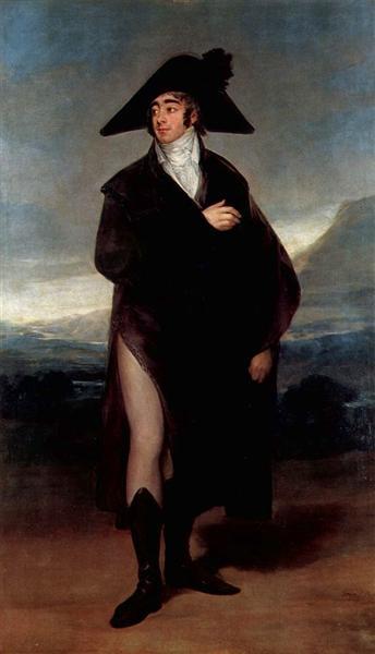 Count Fernand Nunez VII, 1803 - Francisco Goya