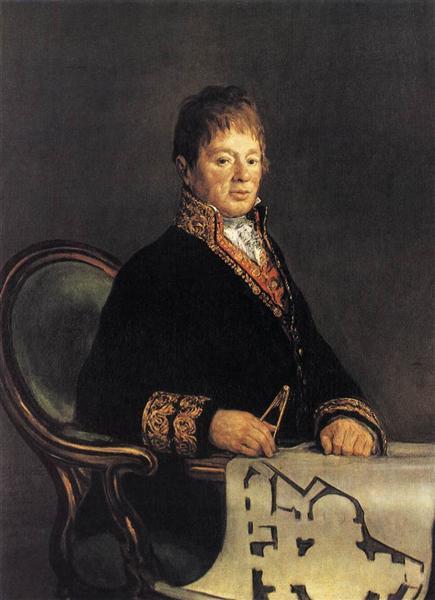 Don Juan Antonio Cuervo - Goya Francisco