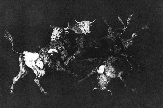 Foolishness of the Fools, 1816 - 1823 - Francisco Goya