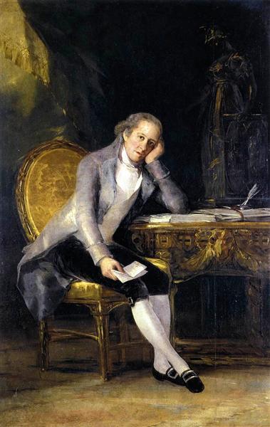 Gaspar Melchor de Jovellanos, c.1798 - Francisco Goya