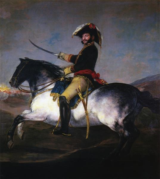 General Jose de Palafox, 1814 - Francisco Goya